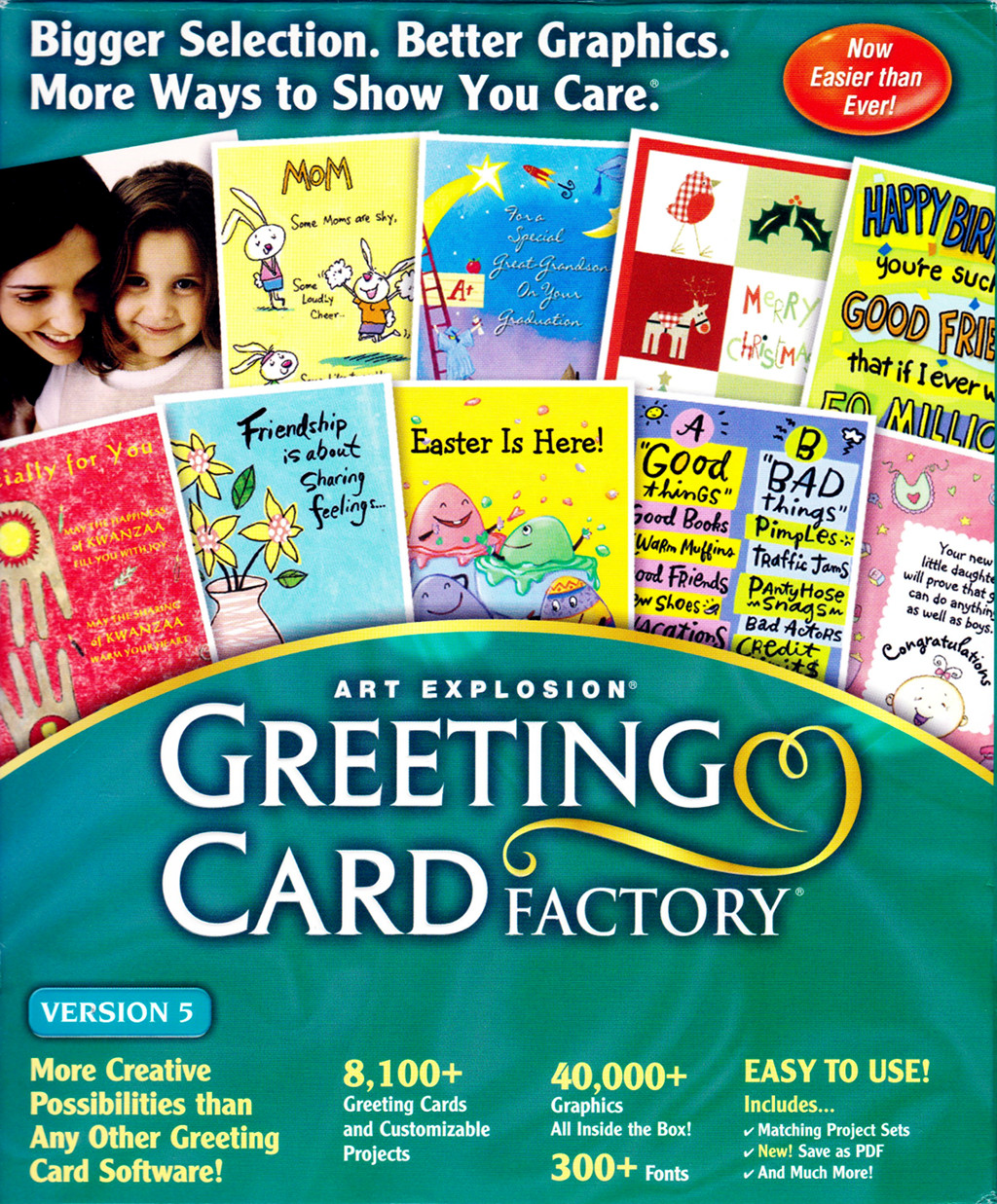 Art Explosion: Greeting Card Factory
